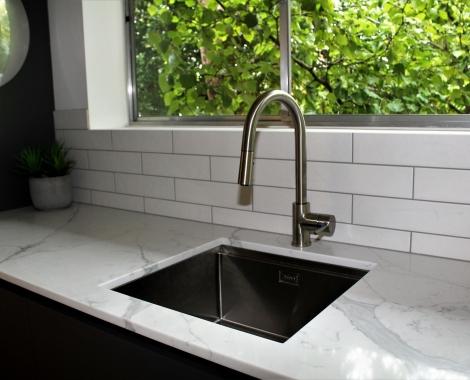 Galley-kitchen-undermount-sink
