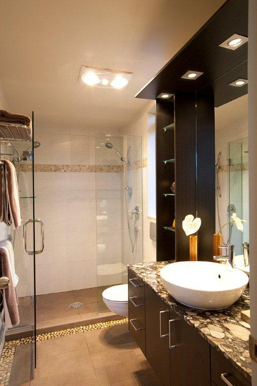 Small bathrooms bathrooms by design for Small bathroom designs nz